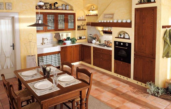 Интерьер маленькой кухни фотогалерея